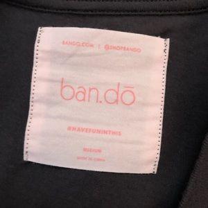 bando Tops - Bando Gray I've Got Friends Short Sleeve Tee